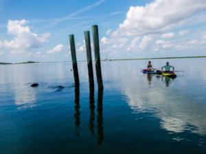 Paddle boarding Jekyll Island